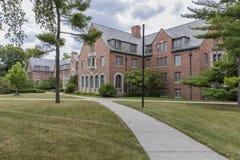 Campus universitario dello stato del Michigan Fotografia Stock Libera da Diritti
