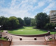 Campus universitario dello stato di NC Fotografie Stock Libere da Diritti