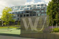 Campus universitario di Vienna Immagine Stock Libera da Diritti