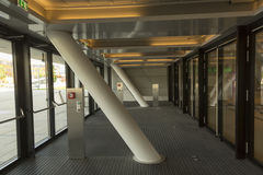 Campus universitario di Vienna - interno delle biblioteche Fotografia Stock