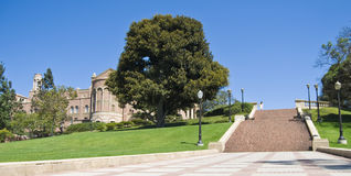 Campus universitario Los Ángeles Imágenes de archivo libres de regalías