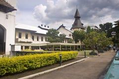 Campus universitario Tha Prachan Fotografie Stock