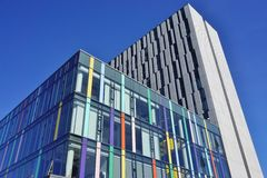 The campus of the University of British Columbia (UBC) Stock Photo