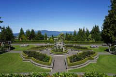 The campus of the University of British Columbia (UBC) Stock Photography