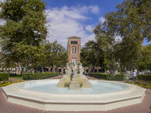 Campus of the University of Southern California Royalty Free Stock Images