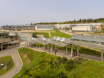 Campus University of Vigo. In Galicia Stock Image