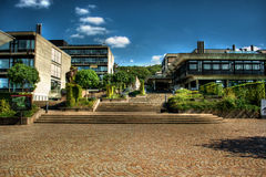 Campus University Zurich HDR Stock Images