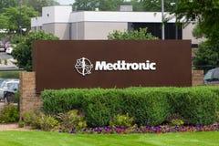 Campus van het Medtronic de Collectieve Hoofdkwartier Stock Afbeelding