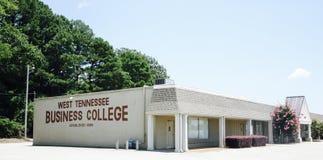Campus van het Westen Tennessee Business College, Jackson TN Stock Afbeelding