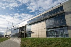 Campus of VSB-TUO university in Ostrava Royalty Free Stock Image