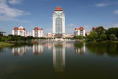 Campus of xiamen university stock photography