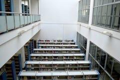 Campusbibliotheek Stock Afbeelding