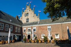 Campveerse Tower in Veere, Walcheren, Netherlands Royalty Free Stock Photography