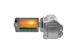 Caméra vidéo Photographie stock