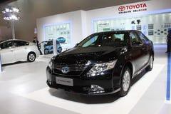Camry hev van Toyota Stock Foto