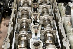 Camshaft Stock Photo