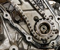 Camshaft gear Stock Image