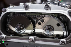 Camshaft timing gear Stock Photography