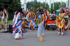 Camuendo Wuambrakuna Folk Group Royalty Free Stock Images