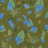 Camuflagem comigo-nots Imagem de Stock Royalty Free