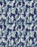 Camuflagem digital sem emenda Fotografia de Stock
