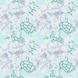 Camuflaje azul claro del invierno con las manchas y las grietas ilustración del vector
