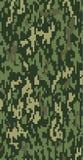 Camuflaje verde de Digitaces Imagen de archivo libre de regalías