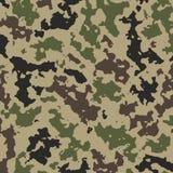 Camufle o fundo para a roupa militar ilustração royalty free