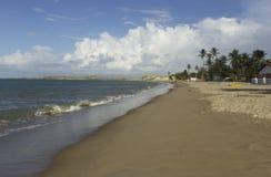 Camurupim-新生巴西海滩 库存图片