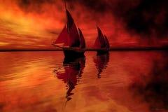 Canção da sirene Fotografia de Stock Royalty Free