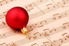 Canção de natal do Natal Imagem de Stock