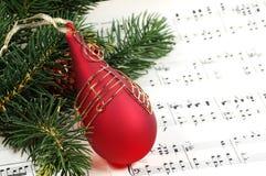 Canção de natal do Natal Fotografia de Stock