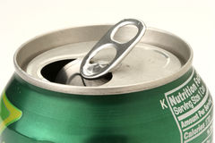 Can. An open can of soda Royalty Free Stock Photography