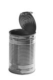 Can. An tin can on a white background, isolated Stock Images