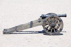 Cañón antiguo de la artillería Fotografía de archivo libre de regalías