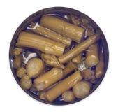 Can of Asparagus Stock Photos