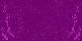 Purple Decorations Royalty Free Stock Photos
