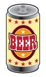 Can of Beer. Generic can of beer waiting to be enjoyed royalty free illustration