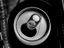 Can of beer monochrome style Royalty Free Stock Photo