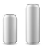 Can of beer vector illustration Stock Photography
