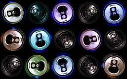 Can cans cancan Royalty Free Stock Images