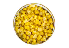 Can of corn Royalty Free Stock Photo