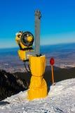 Cañón de la nieve Imagen de archivo libre de regalías