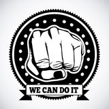 We can do it Royalty Free Stock Image