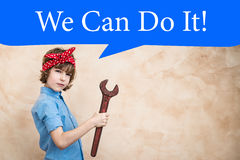 We can do it Stock Images
