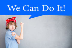 We can do it Royalty Free Stock Photography