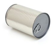 Can for eatable stuff Royalty Free Stock Photography