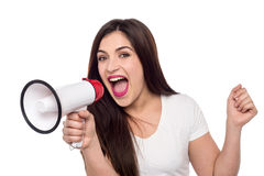 Can everyone please be quiet. Royalty Free Stock Photography
