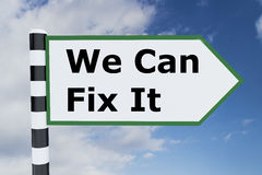 We Can Fix It concept Royalty Free Stock Images