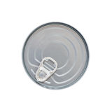 Can. Food can view form the top Royalty Free Stock Photography